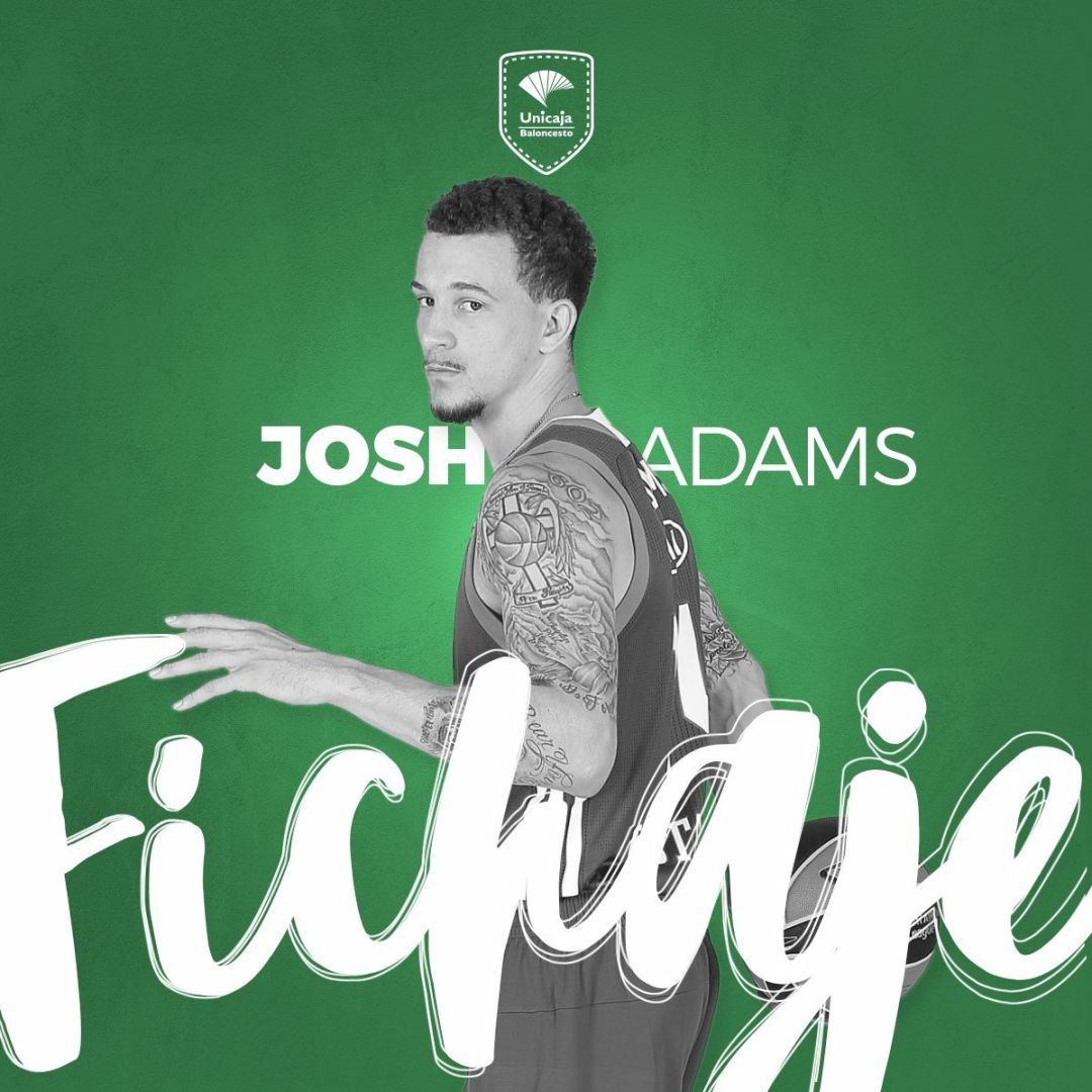 El Unicaja ficha al base Josh Adams