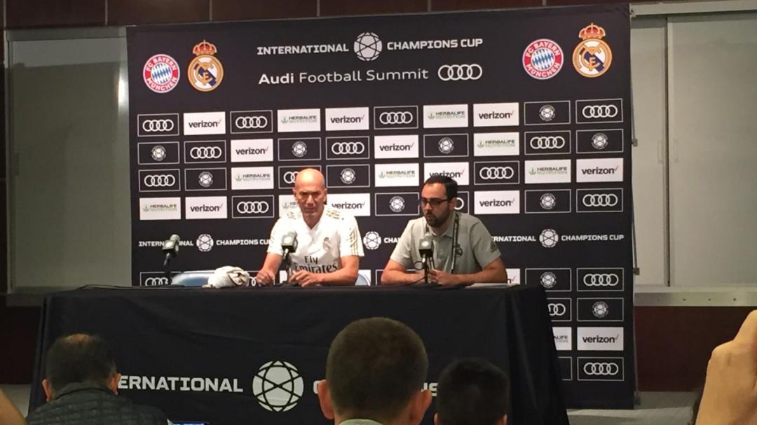 """Zidane: """"Con Bale no ha cambiado nada de junio a hoy"""""""