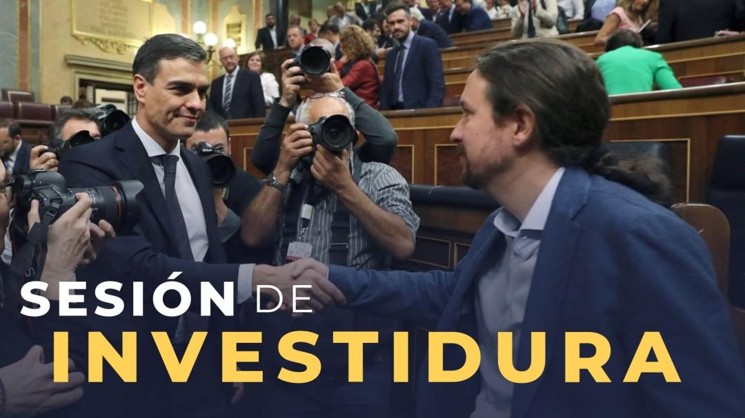 Sánchez e Iglesias escenifican en pleno debate el desencuentro que aún bloquea la investidura