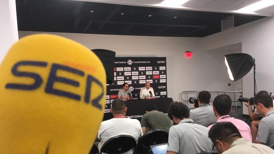 """Zidane: """"Bale no se cambió contra el Bayern porque él no quiso"""""""