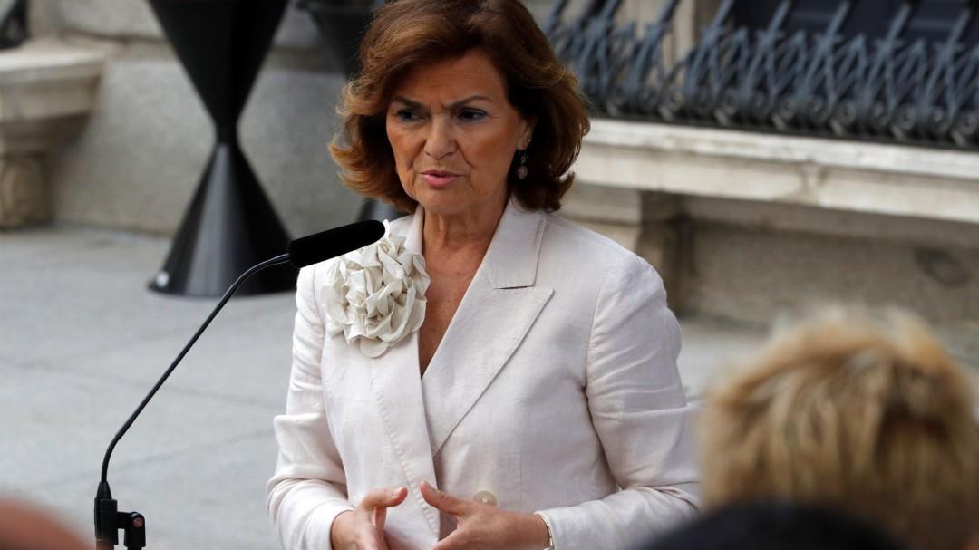 Calvo confirma que el PSOE acepta dar una vicepresidencia a Irene Montero