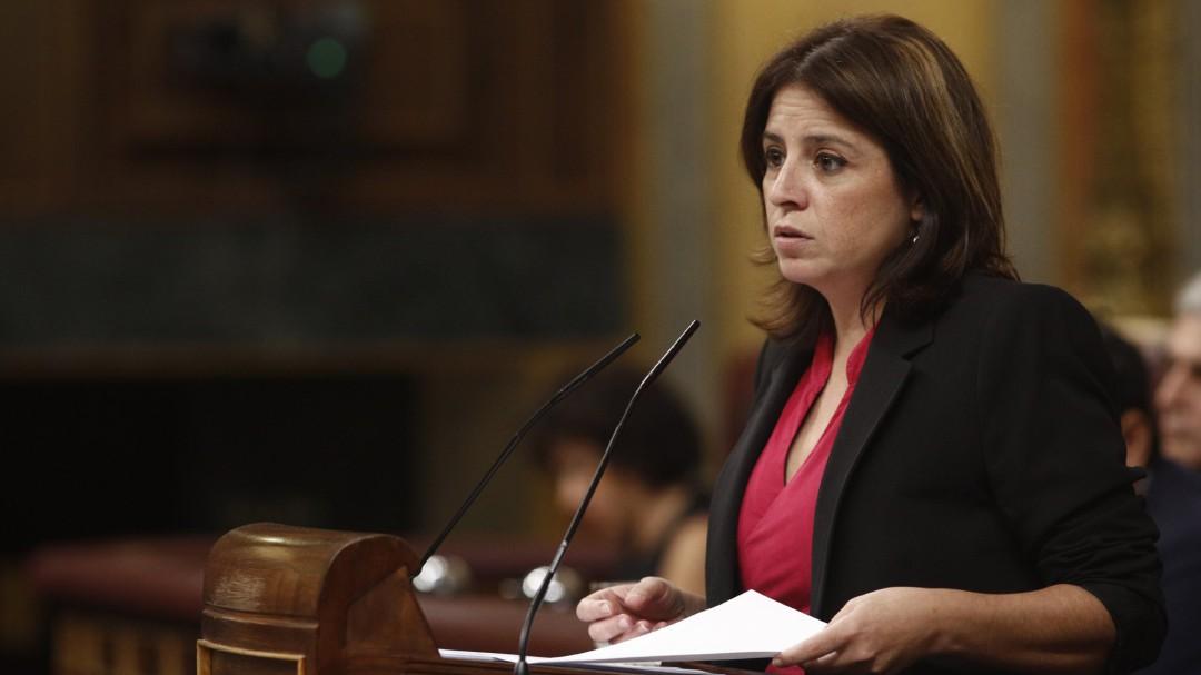 """El rapapolvo de Lastra a Rivera por """"arrojar el terrorismo"""" al PSOE: """"Tenía compañeros jugándose la vida"""""""