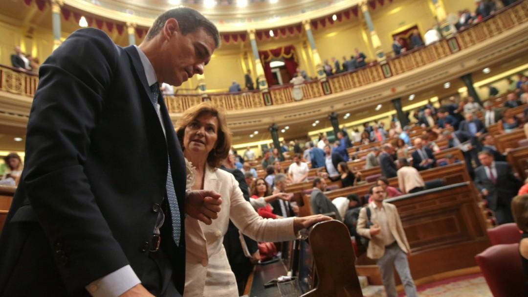 El PSOE se remanga para intentar que Podemos acepte su nueva propuesta y desbloquee la investidura a la segunda