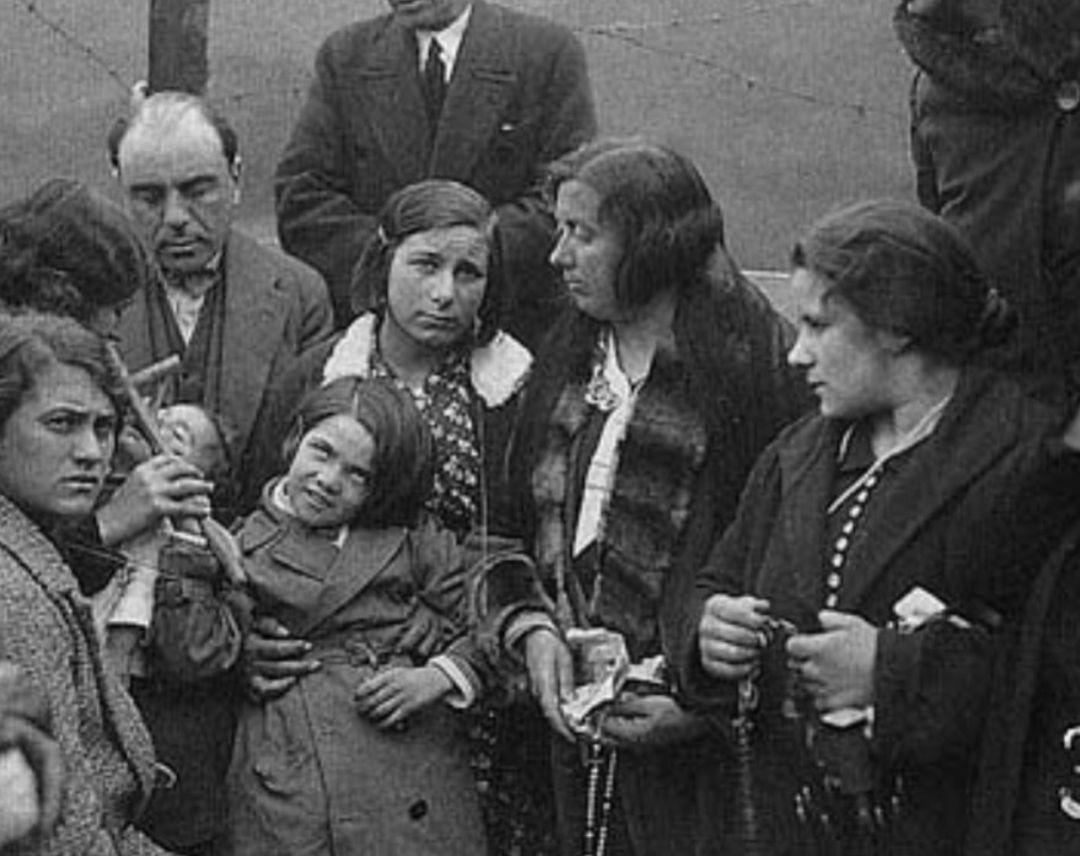 Una supuesta virgen se apareció en Ezkioga (Guipuzcoa) en 1931