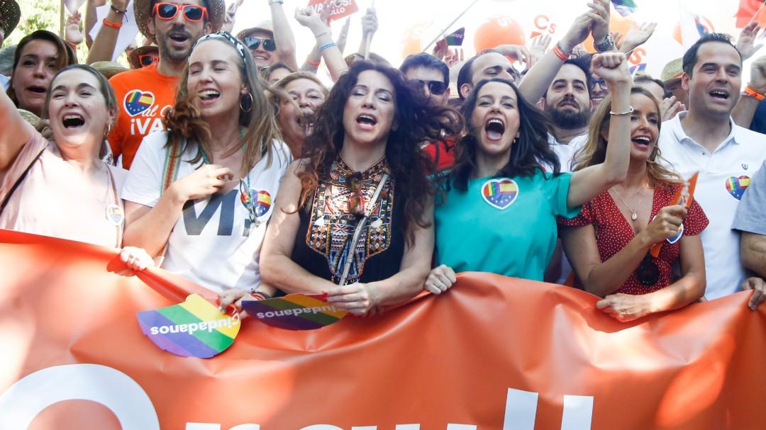 La Fiscalía pide el archivo de la denuncia de Ciudadanos por el escrache en el Orgullo