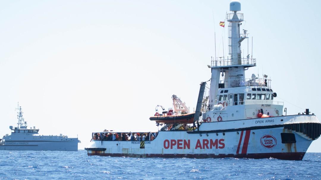 Salvini anuncia que permitirá desembarcar a los menores a bordo del 'Open Arms'
