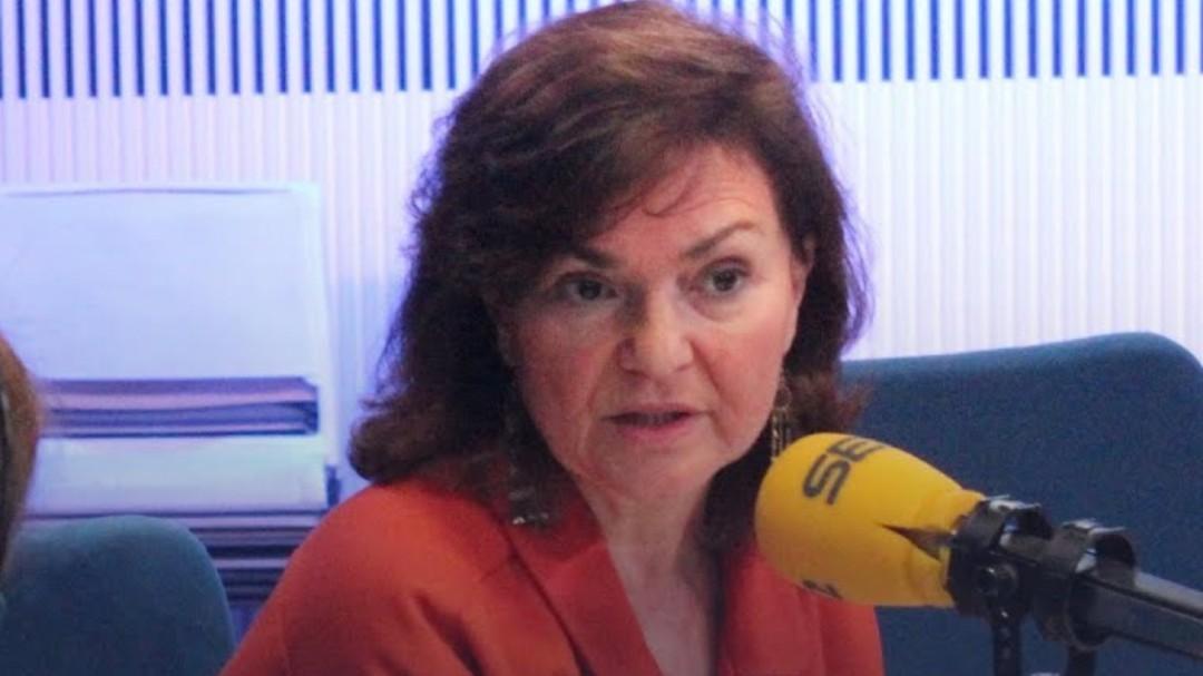 """Carmen Calvo, sobre el Open Arms: """"Italia se está saltando las leyes"""""""