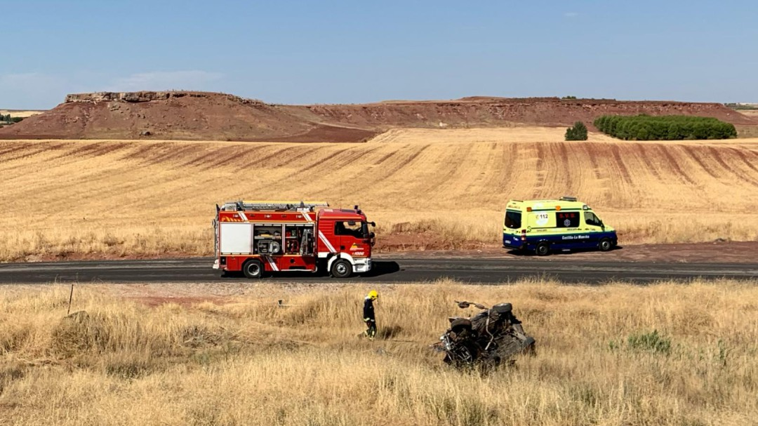 Accidente con un fallecido en Infantes