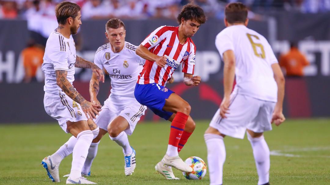 Atlético - Real Madrid: el derbi madrileño de la Liga ya tiene fecha y hora