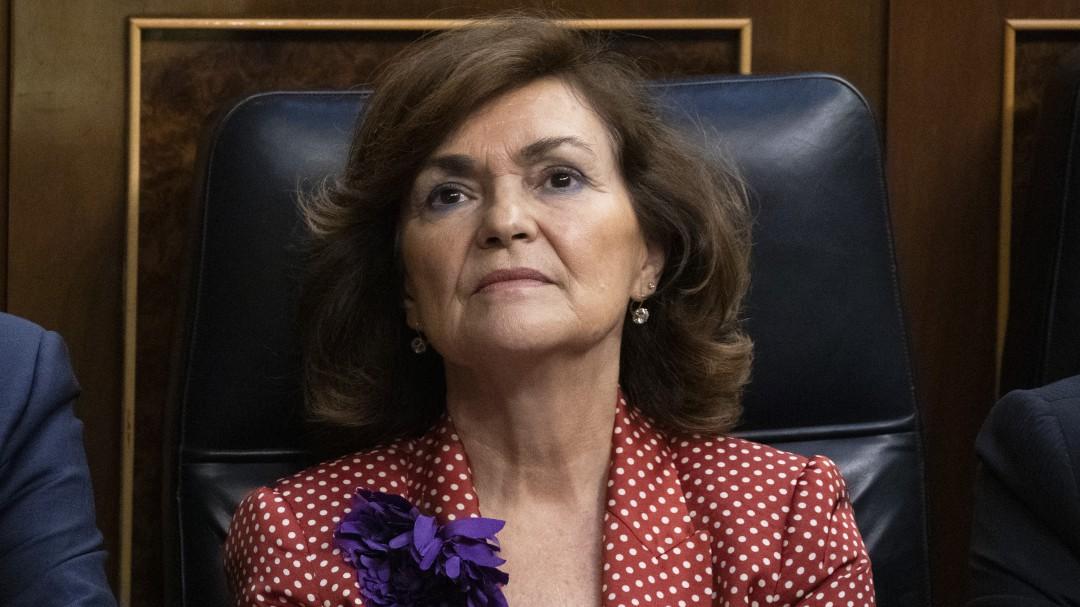 Carmen Calvo recuerda que el Open Arms no tiene permiso para rescatar