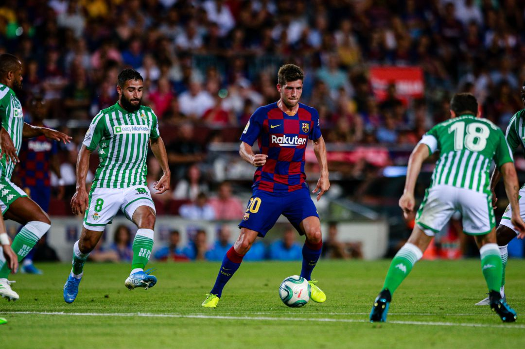 Soccer: La Liga - FC Barcelona v Real Betis