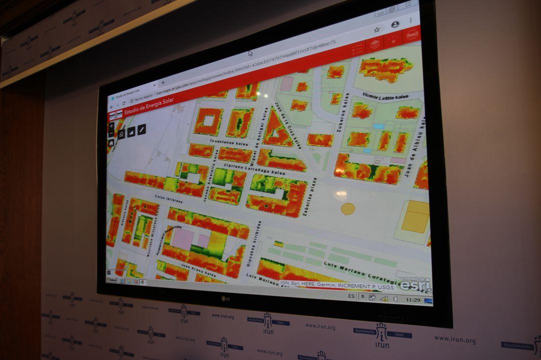 Aplicación en la web para la consultar información sobre energía solar en edificios de la ciudad.