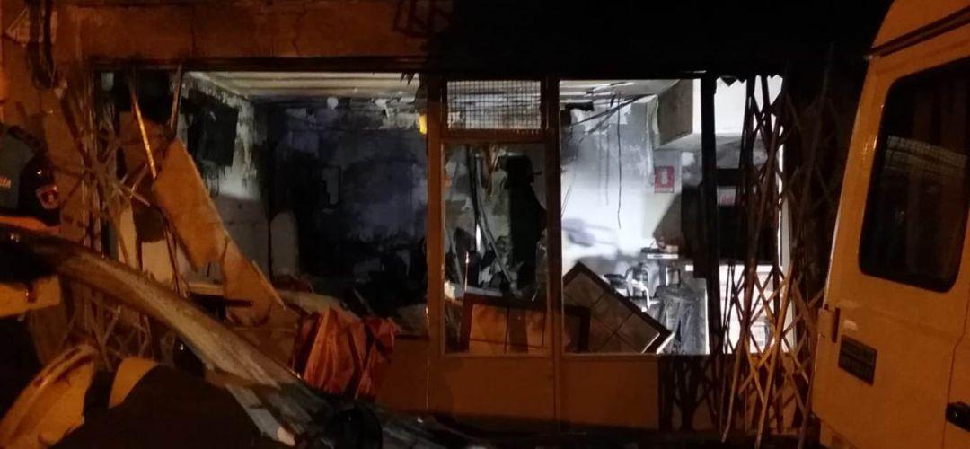 """[EFE] 30 Enero 2016: """"La sede de la CUP amanece quemada"""" 1567595821_299180_1567595895_noticia_normal"""