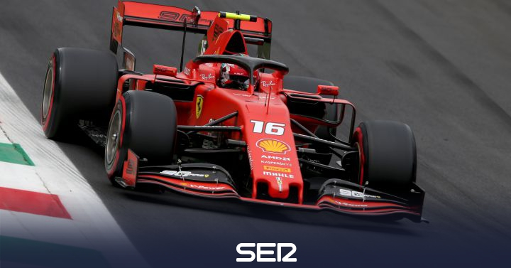 Leclerc consigue la pole para Ferrari en Monza