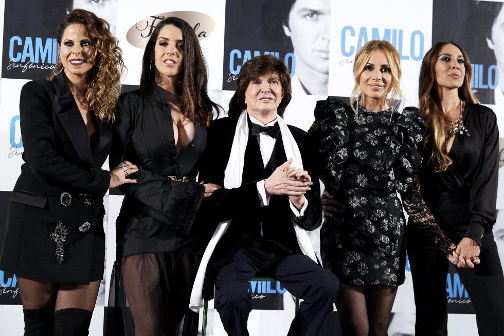 Camilo Sesto en la presentación de su último disco