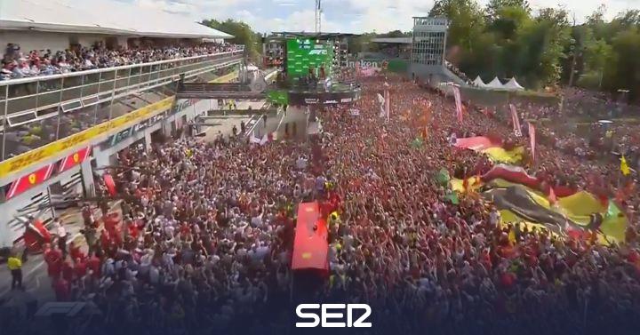 El momento del fin de semana en la Fórmula 1: nueve años después vuelve a sonar el himno italiano en Monza