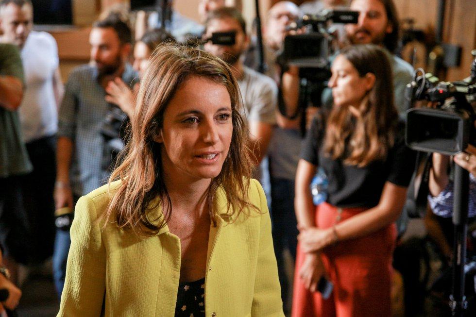 """La delegada del área de Cultura, Turismo y Deporte del Ayuntamiento de Madrid, Andrea Levy, ha asegurado que """"no se apagará la llama"""" de las canciones de Camilo Sesto"""