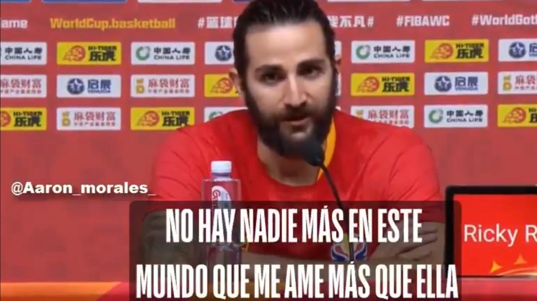 """El discurso de Ricky Rubio tras ganar el Mundial: """"Nadie me ama más que mi madre"""""""