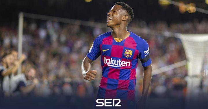La Federación trabaja para que Ansu Fati pueda jugar con la selección española