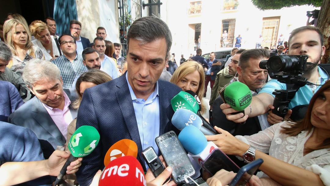 """Sánchez rechaza la propuesta de abstención de Rivera: """"No existe obstáculo real"""""""
