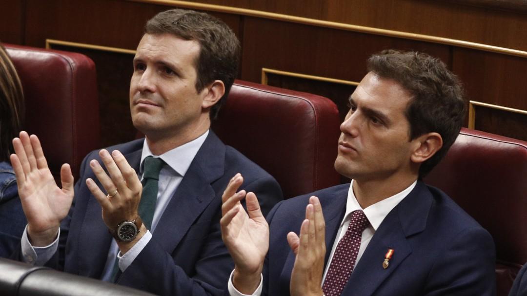 Ciudadanos pide que Pedro Sánchez se comprometa por escrito a cumplir sus exigencias y el PP mantiene su postura