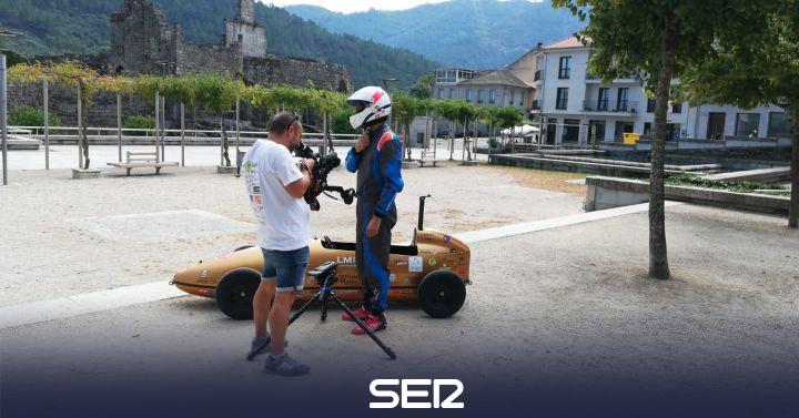 Un coche fabricado por la ULE con restos de palas de LM gana en su primer campeonato