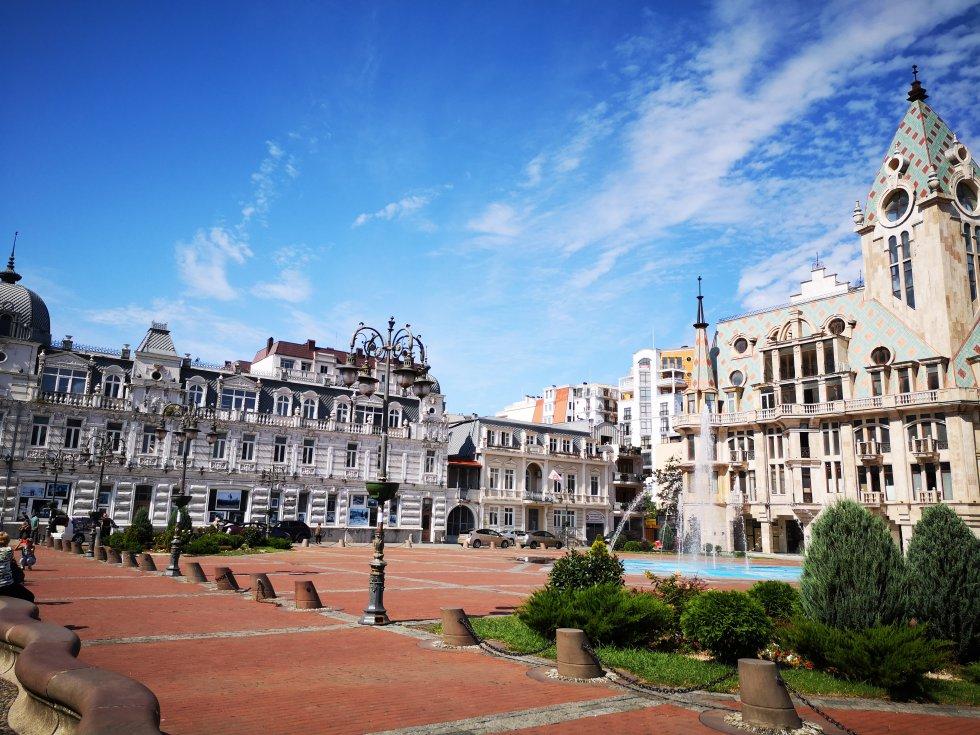 Plaza de Europa.