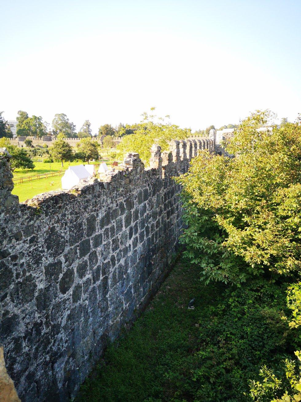 Fortaleza de Gonio (Apsaros en griego). Se trata de una fortificación romana del siglo I junto al río Çoruh a tan solo 4 kilómetros de Turquía.