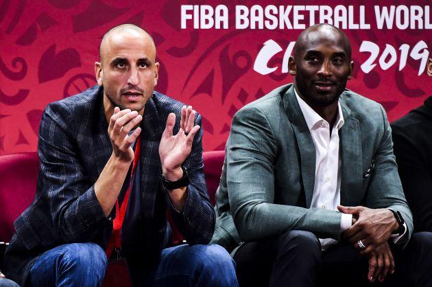 """Kobe Bryant: """"Si no hubiera sido por Manu tendría diez anillos"""""""