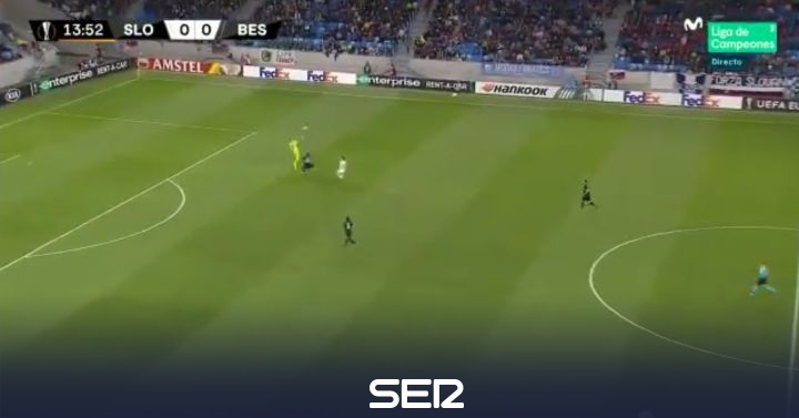 Nueva pifia de Karius que le cuesta un gol al Besiktas