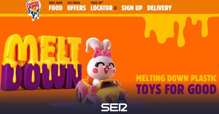 Burger King y McDonald's dejarán de regalar juguetes de plástico con sus menús infantiles