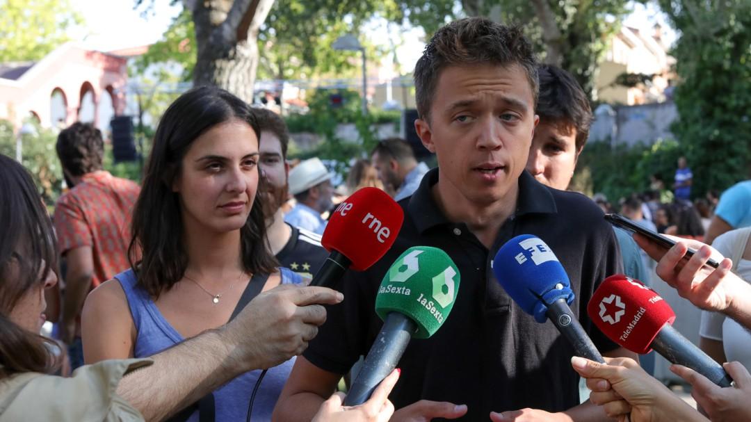 Más Madrid, el partido de Íñigo Errejón, se inclina por presentarse a las elecciones del 10-N