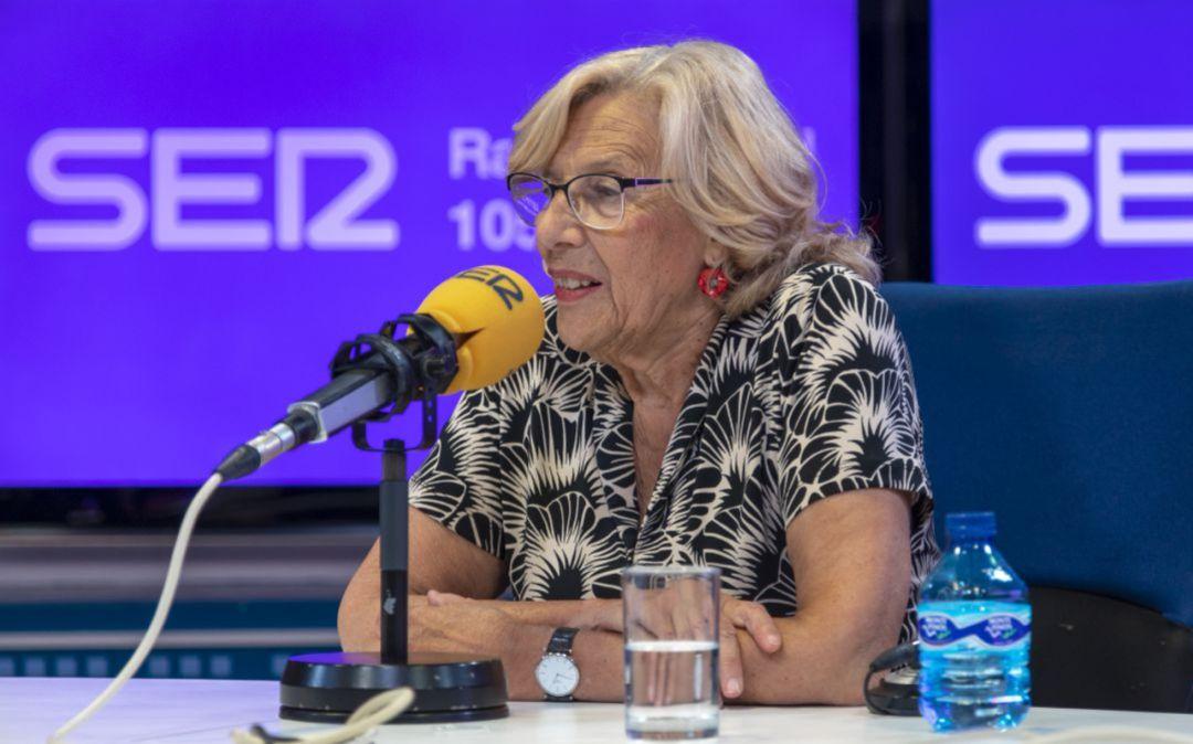 Manuela Carmena, en 'Hora 25'