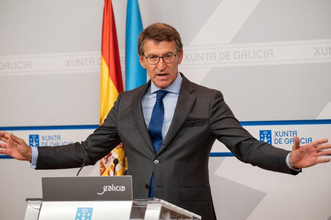 El presidente de la Xunta suaviza las restricciones en el área sanitaria de Pontevedra