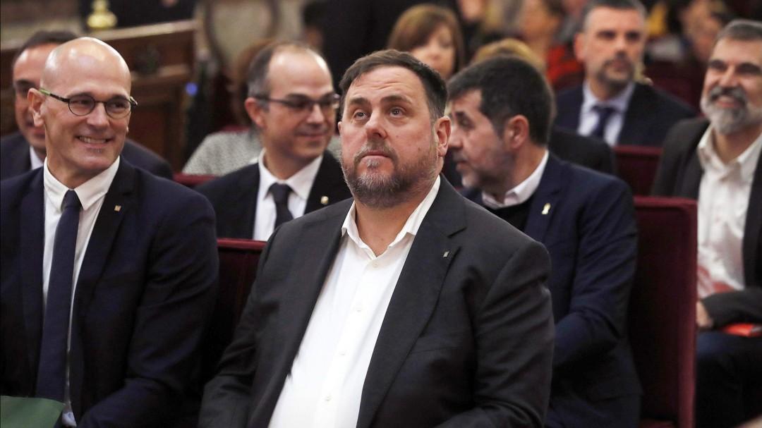 El Supremo condena a Oriol Junqueras a trece años de cárcel por sedición y malversación