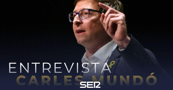 Carles Mundó, este martes en 'Hora 25'
