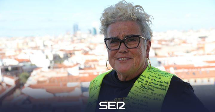 """Begoña Vesga, pensionista: """"El problema no son las pensiones, es cómo está concebido el sistema"""""""