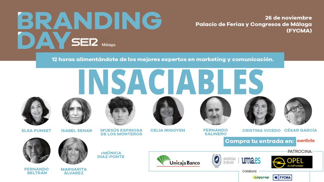 Branding Day Málaga 2019: El mayor evento de marketing y comunicación