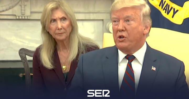 La cara de la traductora de Trump tras algunos de sus extraños comentarios