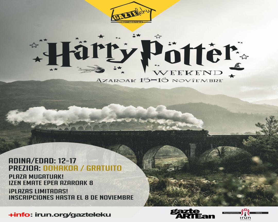"Cartel del ""Harry Potter Weekend"""
