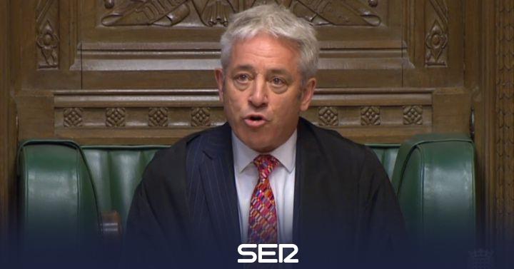 El presidente del Parlamento británico impide que se vote este lunes el acuerdo del 'brexit'