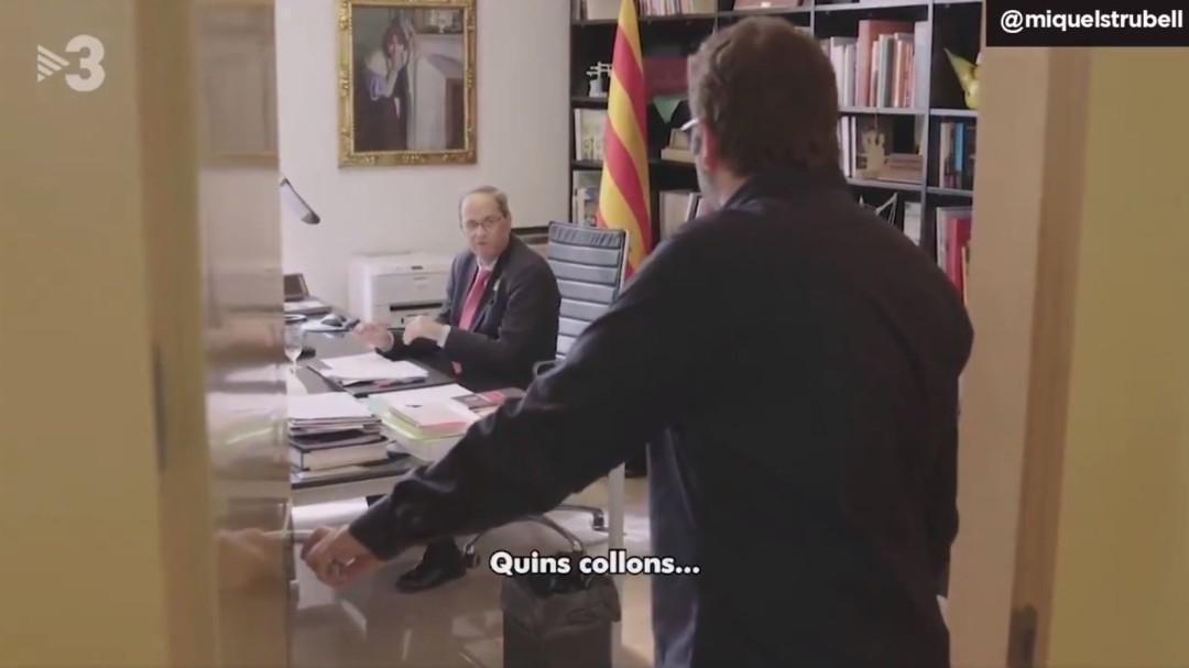 """""""Qué cojones"""", la respuesta de Quim Torra porque Sánchez no le coge el teléfono"""