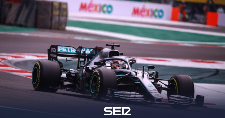¡Lewis Hamilton se corona campeón de la F1 en México!