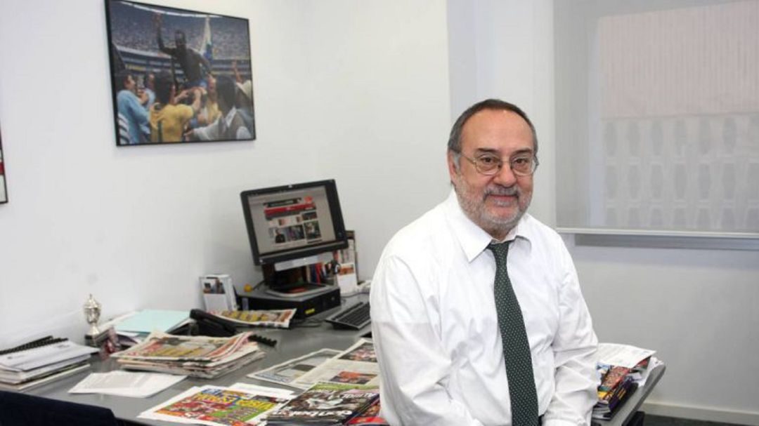Alfredo Relaño, presidente de Honor de Diario AS