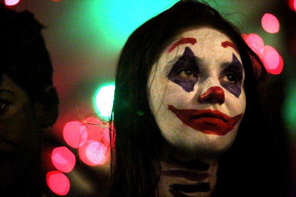 Desfile anual de Halloween en Manhattan, Nueva York.
