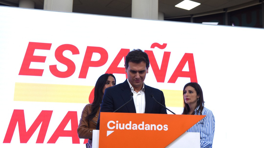 Albert Rivera dimite como líder de Ciudadanos y deja la política