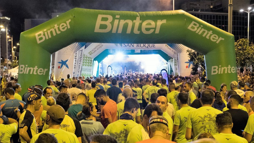 4450 inscritos en la Binter NightRun Las Palmas de Gran Canaria
