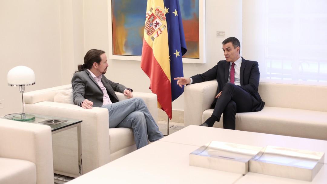 PSOE y Podemos alcanzan un principio de acuerdo para un gobierno de coalición