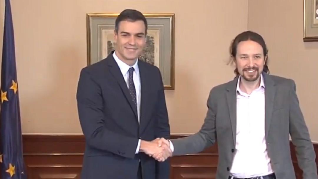 Los 10 puntos del preacuerdo PSOE-Podemos para un gobierno de coalición