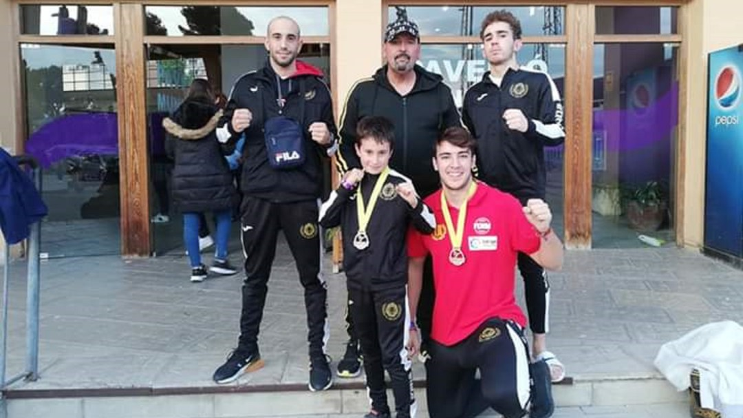 El HC Fight Gym regresa de Gandía con tres medallas